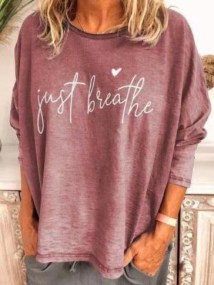 Women's Cotton CrewNeck Printed T-shirt_2