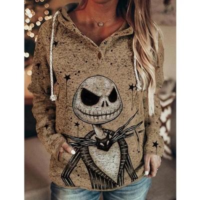 Women's Mama Bear Print Long Sleeve Top & Hoodie_5