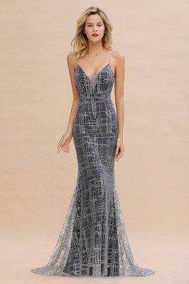Elegant Mermaid Sleeveless Long Evening Dress