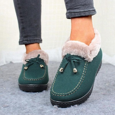 Cotton Shoes For Lady Winter Soft Soles Warm Shoes On Sale_6