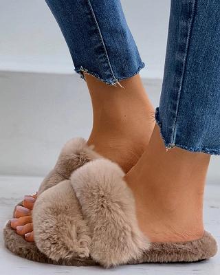 Fluffy Toe Post Casual Slipper_17