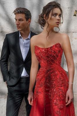 Floor Length Tulle Sweetheart Floral Partten Prom Dresses_6