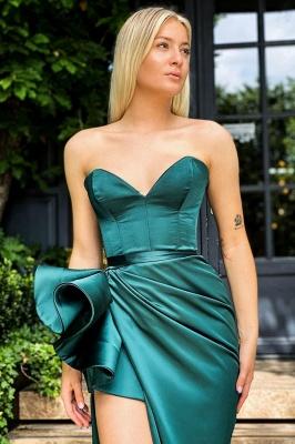 Sexy Sleeveless slim Split front Evening Dress_2