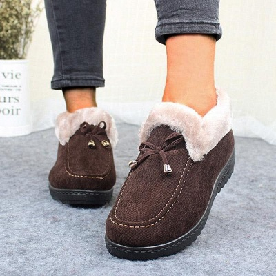 Cotton Shoes For Lady Winter Soft Soles Warm Shoes On Sale_11
