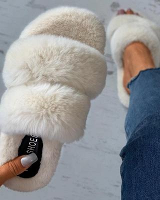 Fluffy Toe Post Casual Slipper_8