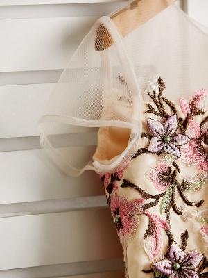 Cute Jewel Tulle Lace Satin Sleeveles Flower Girl Dress_7