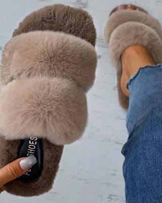 Fluffy Toe Post Casual Slipper_16