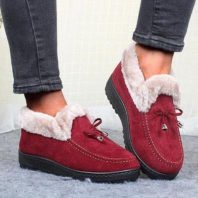 Cotton Shoes For Lady Winter Soft Soles Warm Shoes On Sale_1