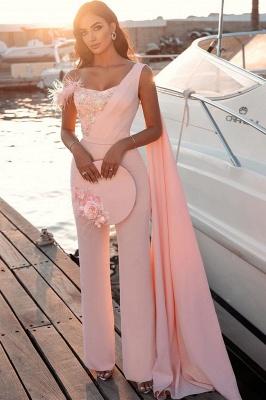 Floor Length Sweetheart Sheath Sleeveless Feather Prom Dresses_2