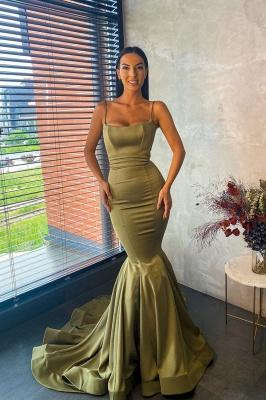 Slim Mermaid Prom Dress Charming  Spaghetti_2