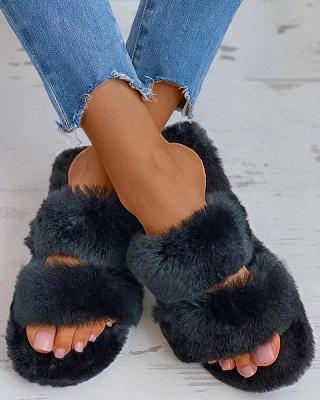 Fluffy Toe Post Casual Slipper_3