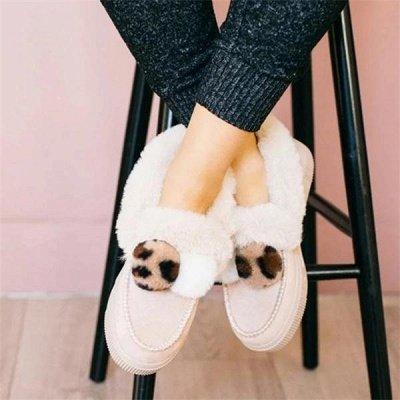 Fashion Wool Cotton Shoes Women Winter Warm Plus-Size Boots On Sale_15