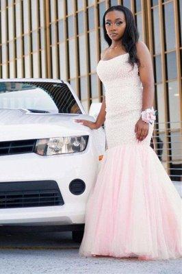 Strapless Evening Gowns Fllor Length Formal Dress_1