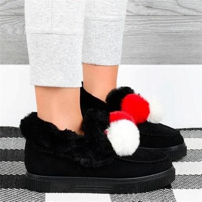 Fashion Wool Cotton Shoes Women Winter Warm Plus-Size Boots On Sale_9