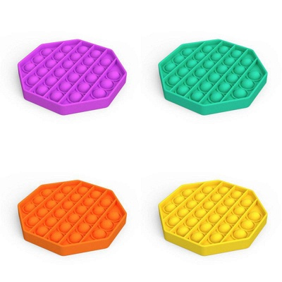 5 PCS Fidget Toy Pop It Decompression Sensory Push Sensory Toy Autism Anxiety Stress Reliever for Students Office Workers_12