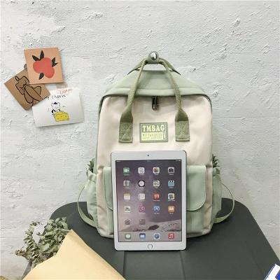 New Female Backpack 2021 Canvas Fashion Women Backpack Waterproof School Bags For Teenage Girls Shoulder Bags Women_6