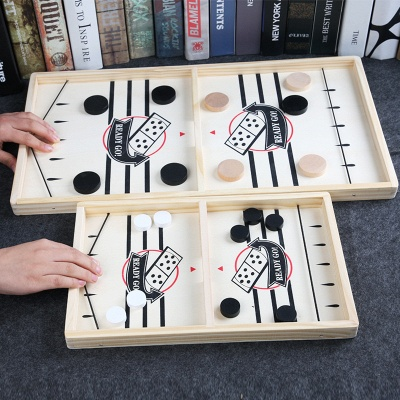 Table Ice Hockey Chess Interactive Play Toys Lightweight Game Foosball Games Parent-child Game Playing Elements_4