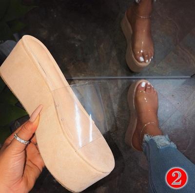 2021 Ladies Summer Platform Sandals New Arrival Women Outdoor Slippers Flat Shoes Ladies Shoes_1