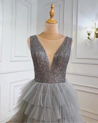 Boho Jewel Sequins Tulle Sleeveless Prom Dress_3