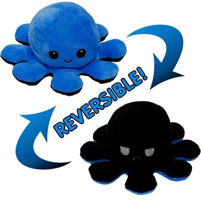 5 PCS Reversible Flip Octopus Stuffed Plush Doll Soft Simulation Reversible Plush Toys Color Chapter Plush Doll Child Toys_5