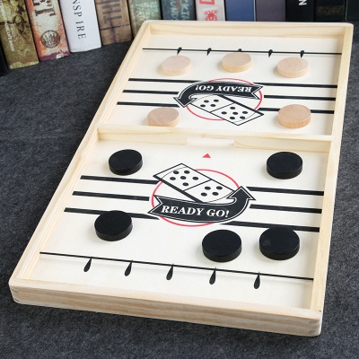 Table Ice Hockey Chess Interactive Play Toys Lightweight Game Foosball Games Parent-child Game Playing Elements_3