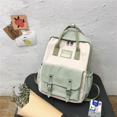 New Female Backpack 2021 Canvas Fashion Women Backpack Waterproof School Bags For Teenage Girls Shoulder Bags Women_3