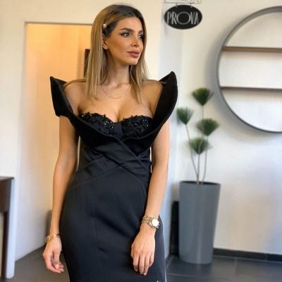 Stylish Mermaid Satin Lace Prom Dress with Beadings_3