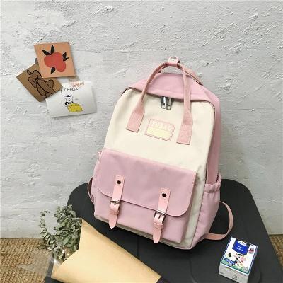 New Female Backpack 2021 Canvas Fashion Women Backpack Waterproof School Bags For Teenage Girls Shoulder Bags Women_10