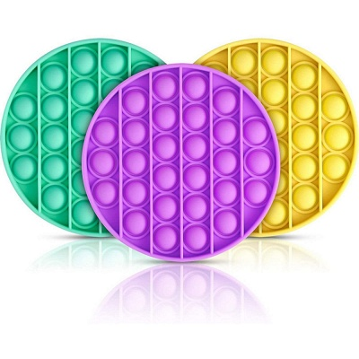5 PCS Fidget Toy Pop It Decompression Sensory Push Sensory Toy Autism Anxiety Stress Reliever for Students Office Workers_25