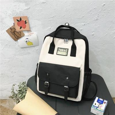 New Female Backpack 2021 Canvas Fashion Women Backpack Waterproof School Bags For Teenage Girls Shoulder Bags Women_2