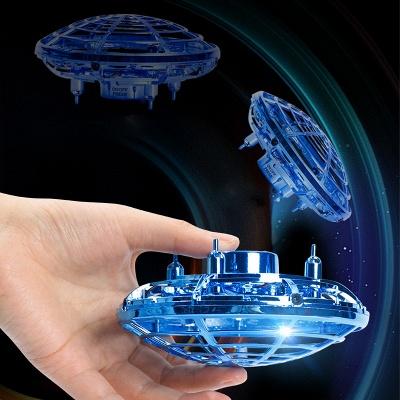 New Fidget Finger Spinner Flying Spinner Returning Gyro Kids Toy Gift Outdoor Gaming Saucer UFO Drone_5