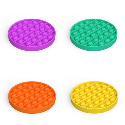 5 PCS Fidget Toy Pop It Decompression Sensory Push Sensory Toy Autism Anxiety Stress Reliever for Students Office Workers_20