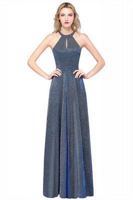 Fashion A-Line Halter Sleeveless Evening Dress On Sale_2