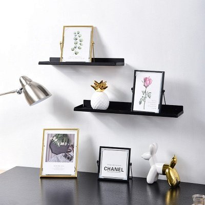 Simple Geometric Metal Three-dimensional Glass Photo Frame Golden Wrought Iron Creative Home Decoration Frame_6