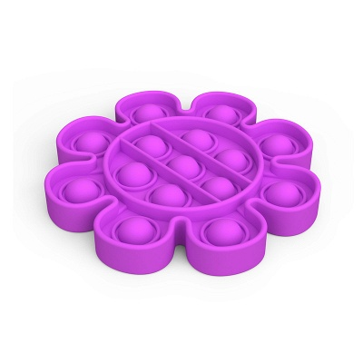 5 PCS Fidget Toy Pop It Decompression Sensory Push Sensory Toy Autism Anxiety Stress Reliever for Students Office Workers_6