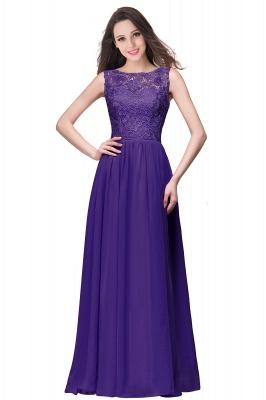 ELYSE   A-line Sleeveless Crew Floor-length Lace Top Chiffon Prom Dresses_3