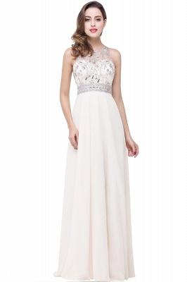 A-line Jewel Chiffon Prom Dress with Beading_1