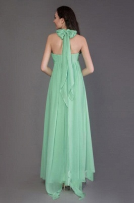 Vintage Chiffon Sleeveless Ruffles A-Line Bridesmaid Dresses_5