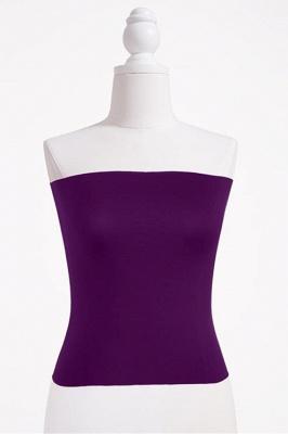 Bandeau Bikini Top for Women Solid Crop Bandeau Top_6
