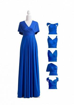 Royal Blue Multiway Infinity Bridesmaid Dresses | Convertible Wedding Party Dress_6
