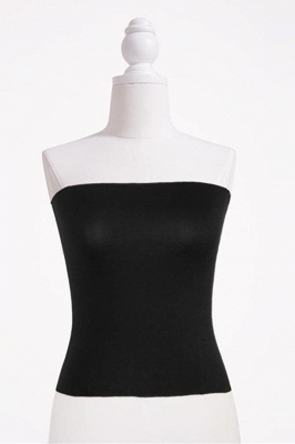 Bandeau Bikini Top for Women Solid Crop Bandeau Top_10