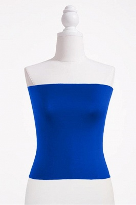 Bandeau Bikini Top for Women Solid Crop Bandeau Top_8