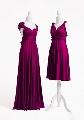 Plum Multiway Infinity Bridesmaid Dresses | Convertible Wedding Party Dress_3