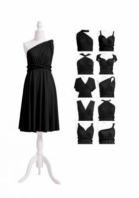 Black Multiway Infinity Bridesmaid Dresses | Convertible Wedding Party Dress_5