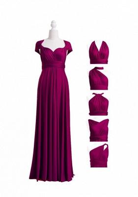 Plum Multiway Infinity Bridesmaid Dresses | Convertible Wedding Party Dress_4