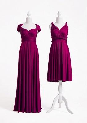 Plum Multiway Infinity Bridesmaid Dresses | Convertible Wedding Party Dress_2