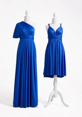 Royal Blue Multiway Infinity Bridesmaid Dresses | Convertible Wedding Party Dress_5