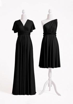 Black Multiway Infinity Bridesmaid Dresses | Convertible Wedding Party Dress_2