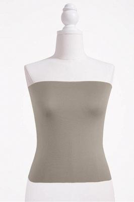 Bandeau Bikini Top for Women Solid Crop Bandeau Top_5