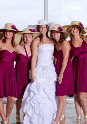 Plum Multiway Infinity Bridesmaid Dresses | Convertible Wedding Party Dress_1